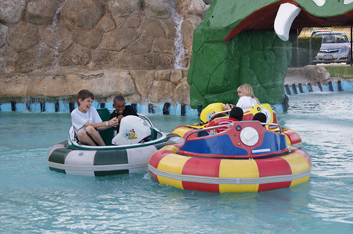 Snake Water Island Bumper Boats (Memorial Day – Labor Day)