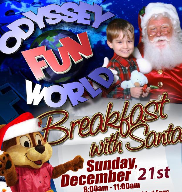 Breakfast With Santa! December 21st 8am-11am