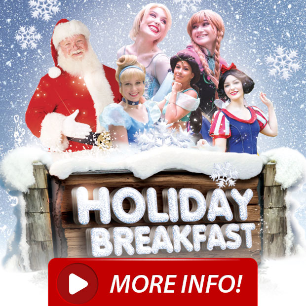 Breakfast w/ Santa, Ice Princesses and Fairy-Tale Friends!